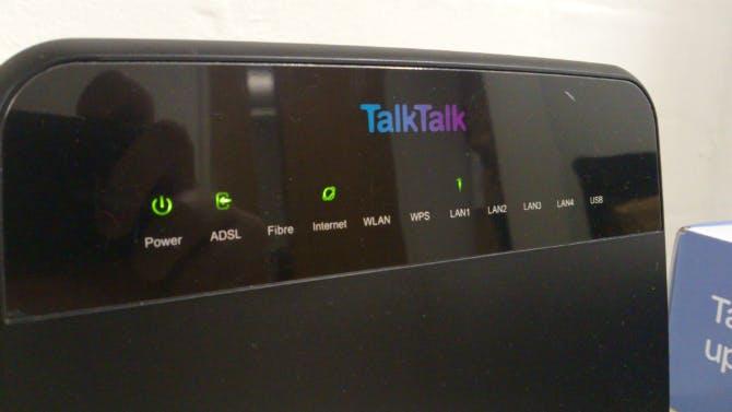 Talk Talk HG523a Router Kit