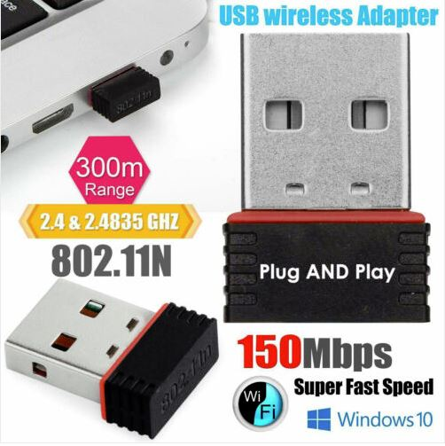 USB WiFi Dongle (Low Profile)
